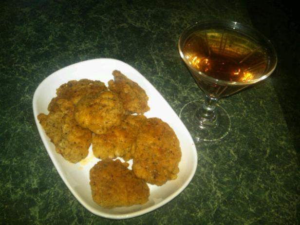 Southern Fried Chicken and Kir Royale