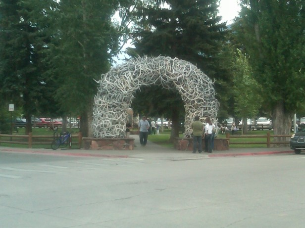 Jackson's arch of Antlers