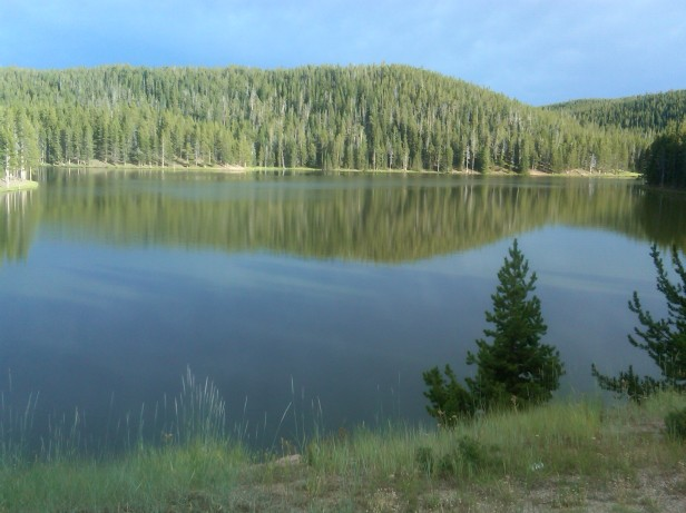 Lake in Bighorn