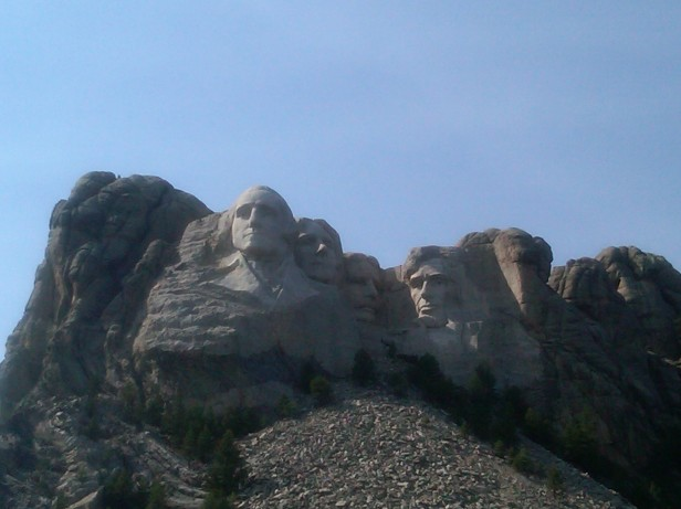 Mt. Rushmore - manmade wonder!