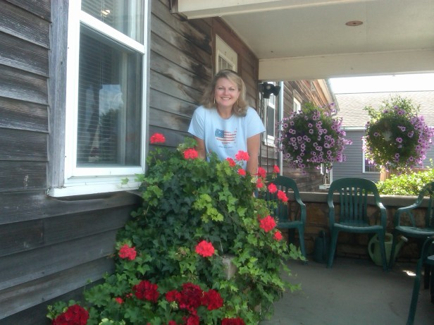 Renee @ Ackerman Winery in Amana Colonies, Iowa