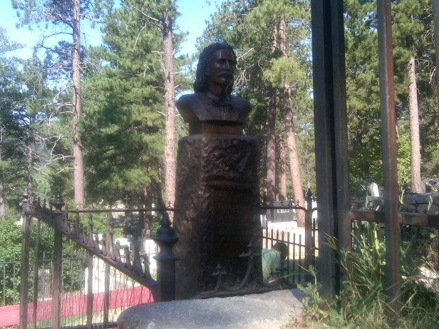Wild Bill Hickok's Grave on Boot Hill