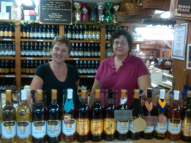 Jeanette Himmelbach and Jean Bean @ Heritage Wine Cheese Jelly Haus