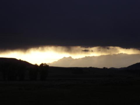 Marvelous Sunset in Big Sky Country