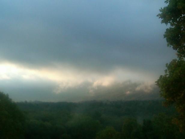 Sunday Morning Fog and Smoke