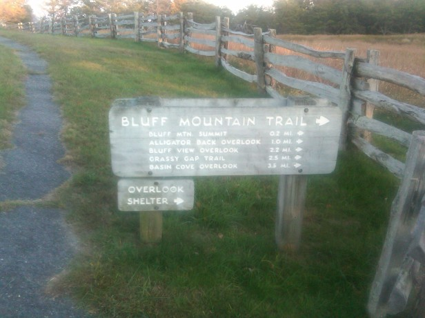 Bluff Mountain Hiking Trails