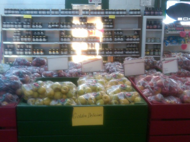 Deal Orchards Display