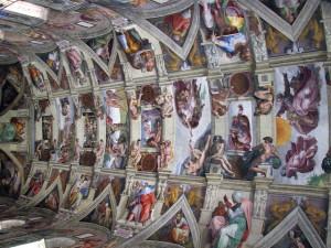 sistine chapel ceiling2