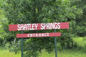 Shatley Springs Sign