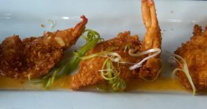 Hilton Head coconut shrimp