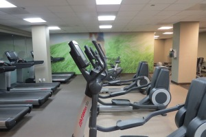 Hilton Head fitness room