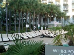 Hilton Head garden lounge chairs