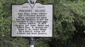 Hilton Head Pinckney Island sign
