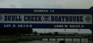 Hilton Head Skull Creek Sign