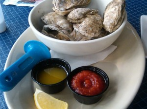 Hilton Head steamed oysters
