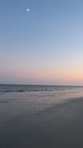 Hilton Head sunset on beach