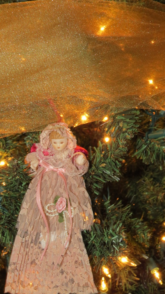 Christmas tree 2013 victorian doll