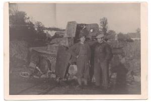 WW II tank