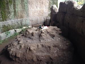 Rome Caesar's tomb