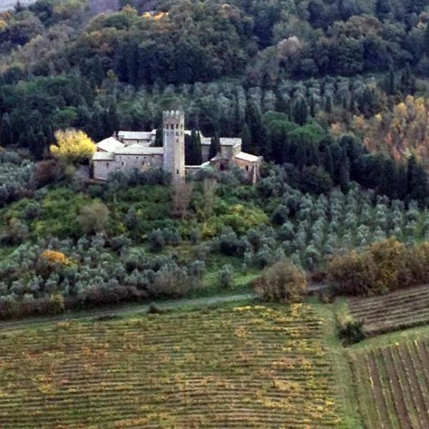 Orvieto - brightened monastery