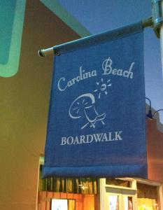 Carolina Beach boardwalk sign