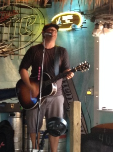 Carolina Beach musician at Hurricane Alley's