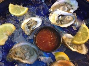 Carolina Beach oysters