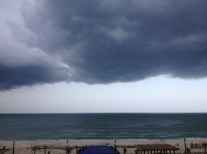 Carolina Beach storm clouds 2