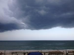 Carolina Beach storm clouds 2
