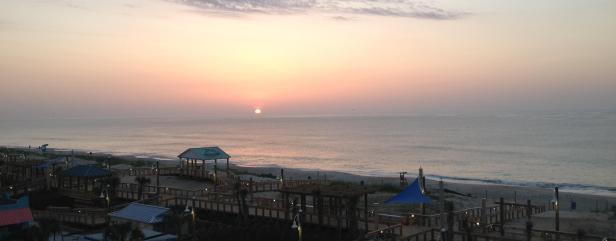 Carolina Beach sunrise 1