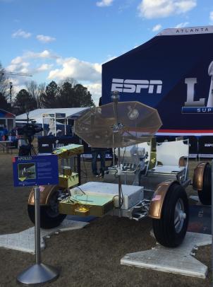 Atlanta's Lunar Roving Vehicle