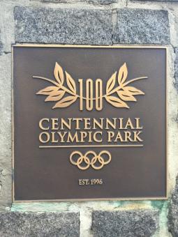 Atlanta's Olympic Park Sign