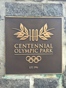 Atlanta's Olympic Park Sign